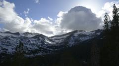 Yosemite LM75 Tioga Pass Stock Footage
