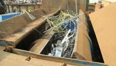 Scrap yard Stock Footage