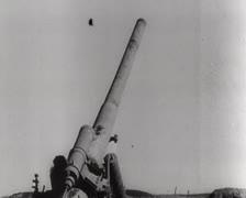 Deutsche Artillerie Diverses 04 Stock Footage