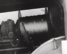 Deutsche Artillerie Diverses 02 - Ballon 01 Stock Footage