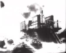 Deutsche Artillerie Feuert 01 Stock Footage