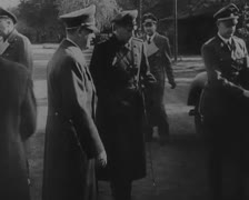 Misc. Hitler Shots 04 - stock footage