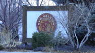 Stock Video Footage of New Belgium Brewery Sign