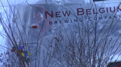 New-Belgium-Trailer.mp4 - stock footage