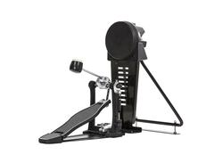 bass drum pedal isolated - stock photo