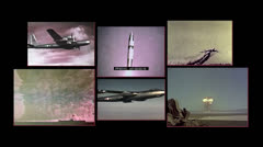 Atomic bomb, cold war collection Stock Footage
