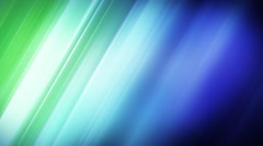 Blue green stripes loop background Stock Footage