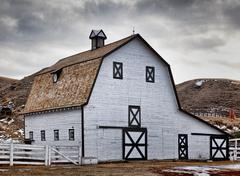 echodale barn - stock photo