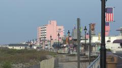 Ocean city nj boardwalk am 1 Stock Footage
