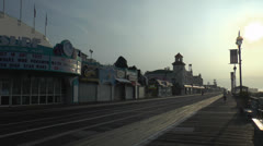 Ocean city nj boardwalk am 3 Stock Footage