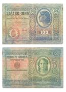 Paper money of the Austro-Hungarian Empire - stock photo