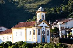 Ouro preto, brazil, south america. Stock Photos