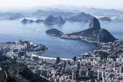Rio de Janeirossa Brasiliassa. Kuvituskuvat