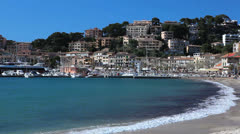 Spain, Port de Soller, Mallorca  - 3 Stock Footage