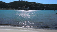 Stock Video Footage of Beautiful beach - Spain, Port de Soller, Mallorca  - 5