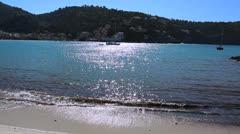 Sunny day - Spain, Port de Soller, Mallorca  - 4 - stock footage