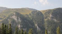 Mountain View Panoramic Stock Footage