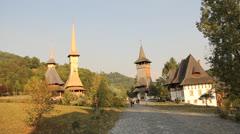 Monastery Area - stock footage
