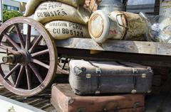 Stock Photo of Nostalgia-travel preparations