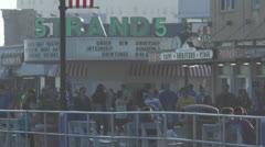 Ocean city nj boardwalk pm 5 Stock Footage