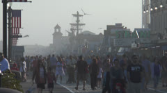 Ocean city nj boardwalk pm 6 Stock Footage