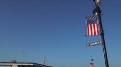 Ocean city nj boardwalk pm 10 Stock Footage