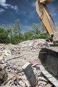 Construction and demolition site Stock Photos