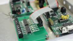 PCB electronic Stock Footage