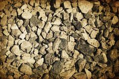 vintage gravel vintage background - stock illustration