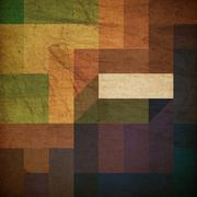 retro colorful rectangles background - stock photo