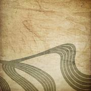 Retro grunge lines background. Stock Photos