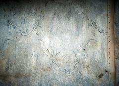 Stock Illustration of abandoned wallpaper pattern