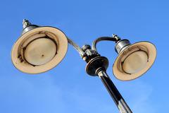 lamp post - stock photo