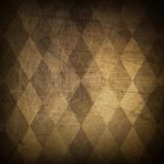 Stock Illustration of classic argyle grunge background
