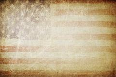 grunge american flag background. perfect for text placing. - stock photo