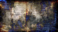 WORD Scroll Abstract Stock Footage