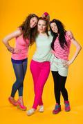 Stock Photo of three girls