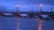 Stock Video Footage of Airplane 12 - Brazilian Airport - commercial aircraft