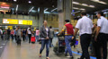 Brazil - Guarulhos Airport - Check In Area - Sao Paulo - 9b Footage