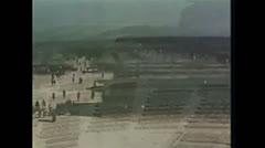 WW2-KZ-Buchenwald-HofNachBefreiung01 Stock Footage