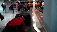 Stock Video Footage of Baggage Claim, Luggage and Suitcases