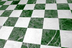 Stock Photo of checked floor