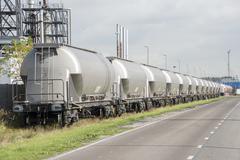 Teollinen junan teollisuus Kuvituskuvat