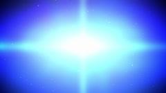 Bright Blue Cross Loop - stock footage