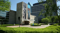 Dallas museum of art, texas, arts, district, usa Stock Footage