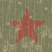 Fist - revolution symbol. grunge, eps10. Stock Illustration