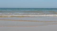 Coast of the Atlantic Ocean. Outflow. Stock Footage