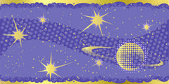 Halftone Galaxy - stock illustration