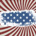 American patriotic background. vintage style. vector, eps10 Stock Illustration