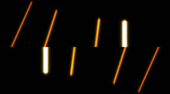 Abstract lines and light, futuristic digital background, HD 1080p, loop. Stock Footage